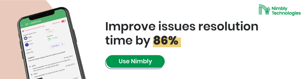 Operational Strategy Improve Issue Resolution time by 86% with Nimbly - Auditing Software